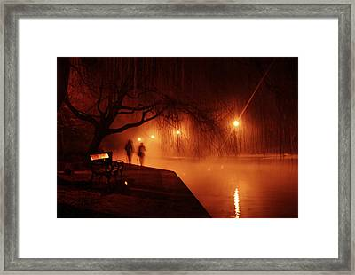 Tapolca - Hungary Framed Print by Cambion Art