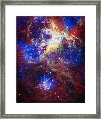 Tarantula Nebula 2 Framed Print by The  Vault - Jennifer Rondinelli Reilly