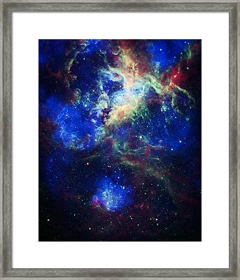 Tarantula Nebula 5 Framed Print by The  Vault - Jennifer Rondinelli Reilly