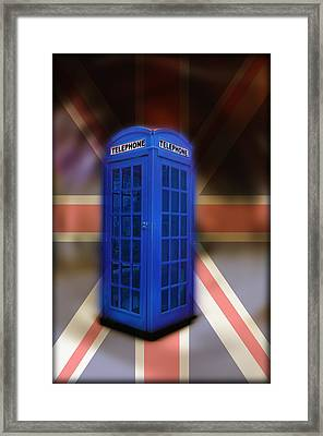 Tardis Framed Print by Bill Cannon