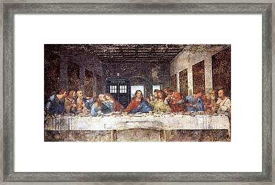 Tardis V Leonardo Da Vinci Framed Print by GP Abrajano