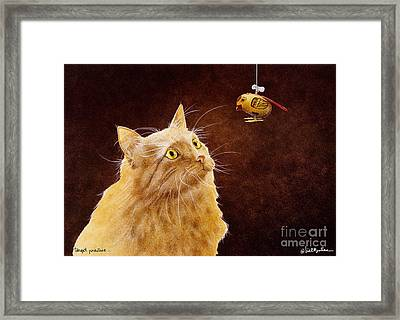 Target Practice... Framed Print by Will Bullas