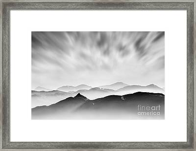Tarmachan Ridge Framed Print by Rod McLean
