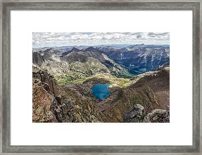Tarn Framed Print by Aaron Spong