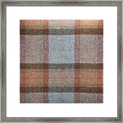 Tartan Wool Framed Print by Tom Gowanlock