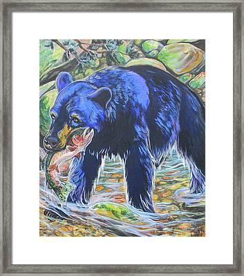 Taste The Rainbow Framed Print by Jenn Cunningham