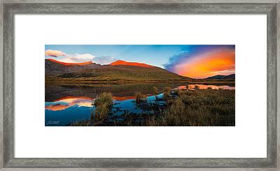 Tasting The Rainbow Framed Print by Jon Blake