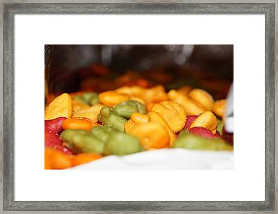 Tasty Snack Framed Print by Scott Dovey