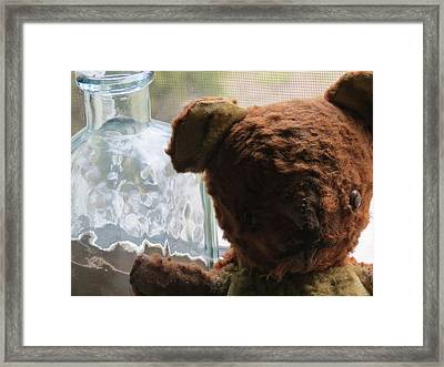Tattered With Love Framed Print by Devin Stone