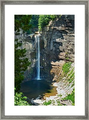 Taughannock Falls Framed Print by Christina Rollo