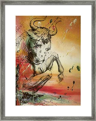 Taurus  Framed Print by Corporate Art Task Force