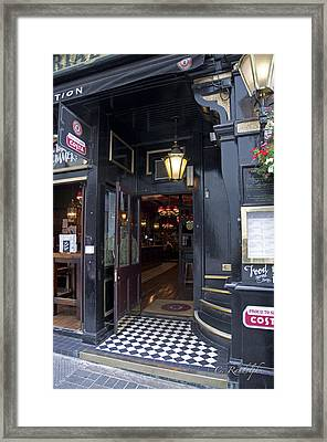 Tavern In Town Framed Print by Cheri Randolph