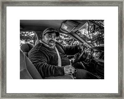 Taxi Driver Framed Print by Bob Orsillo