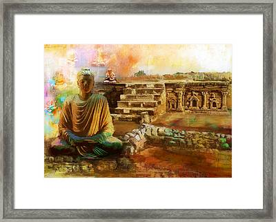 Taxilla Unesco World Heritage Site Framed Print by Catf