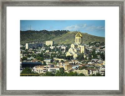 Tbilisi Framed Print by Andrey Tovstyzhenko