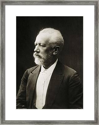 Tchaikovsky, Pyotr Ilych  1840-1893. � Framed Print by Everett