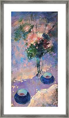 Tea Ceremony Framed Print by Anastasija Kraineva