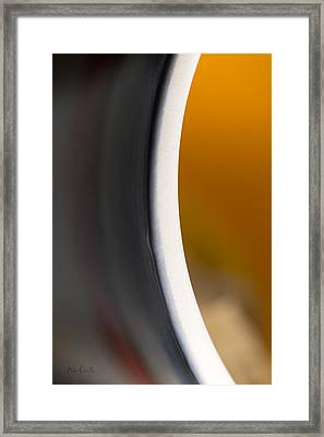 Tea Cup Framed Print by Bob Orsillo