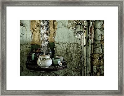 Tea For 2 Framed Print by Russ Dixon