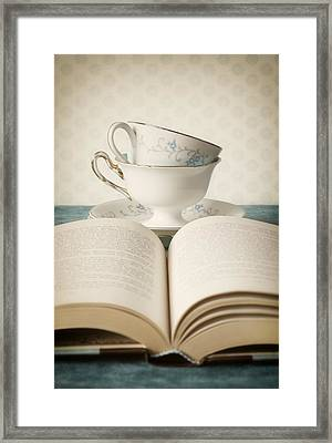 Tea For Two Framed Print by Amy Weiss