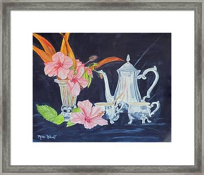 Tea Party Framed Print by Mikki Alhart