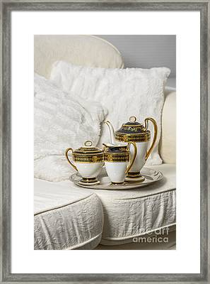 Tea Set Framed Print by Amanda And Christopher Elwell