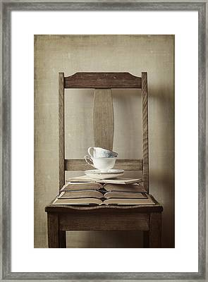 Tea Tales Framed Print by Amy Weiss