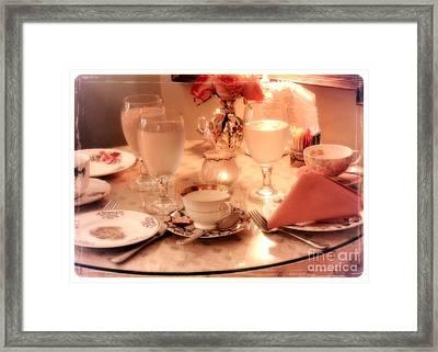 Tea Time Framed Print by Carol Groenen