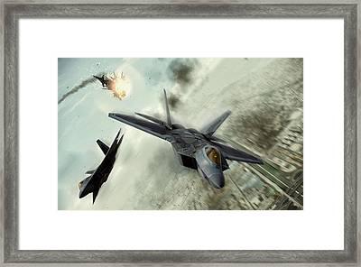 Teamwork Framed Print by Peter Chilelli