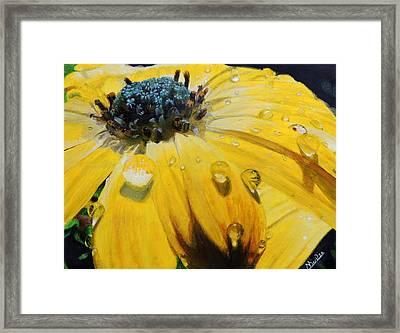 Tears Of The Sun Framed Print by Maritza Tynes