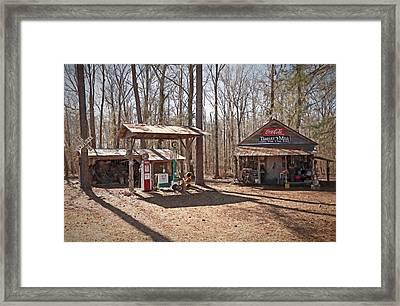 Teasleys Mill Framed Print by Donna Kennedy
