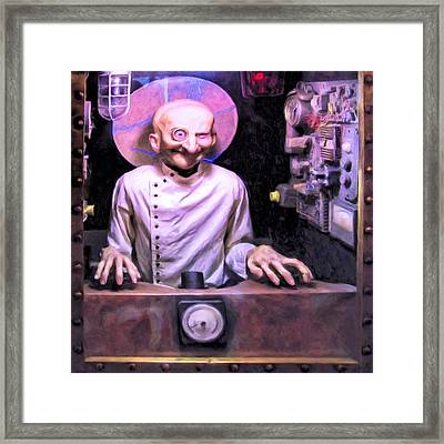 Tech Support Framed Print by Dominic Piperata