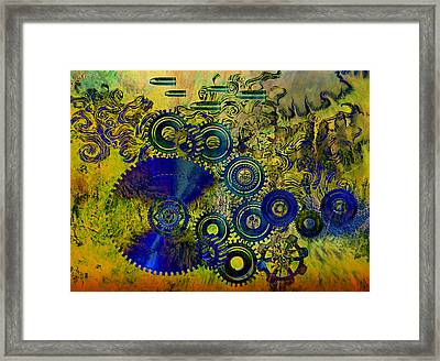Technical Difficulties Framed Print by Ally  White