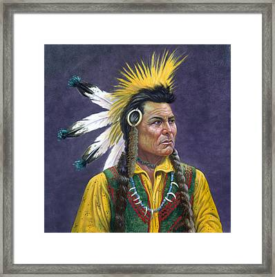 Tecumseh Framed Print by Gregory Perillo