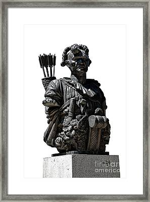 Tecumseh Framed Print by Olivier Le Queinec