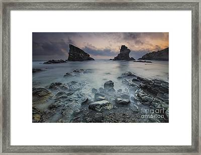 The Ships Framed Print by Todor Bozhkov