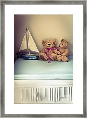 Teddy Bears Framed Print by Jan Bickerton