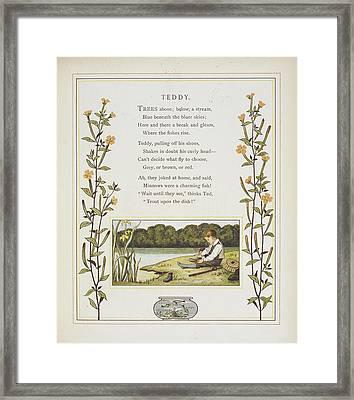 Teddy Framed Print by British Library