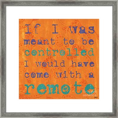 Teen Inspirational 1 Framed Print by Debbie DeWitt