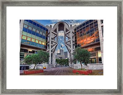 Tel Aviv Performing Arts Center Framed Print by Ronsho