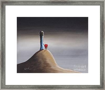 Tell Me What You See By Shawna Erback Framed Print by Shawna Erback
