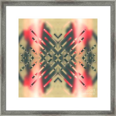Tell Me Where It All Began Framed Print by Beverly Claire Kaiya