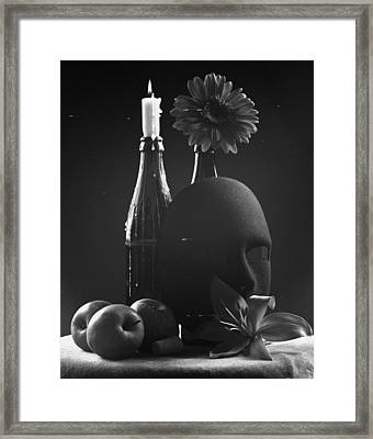 Tell Me You Love Me Framed Print by Marcio Faustino
