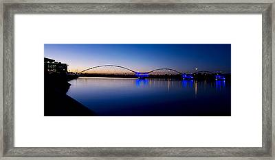 Tempe Town Lake Framed Print by Kelly Gibson