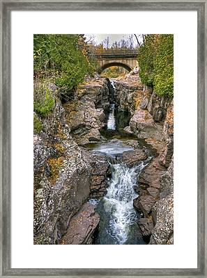 Temperance River Framed Print by Bryan Benson