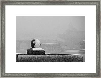 Tempest - Featured 3 Framed Print by Alexander Senin