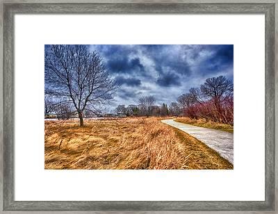 Templar Path Framed Print by Ian Van Schepen