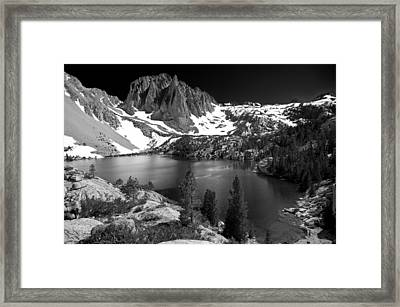 Temple Crag Framed Print by Cat Connor