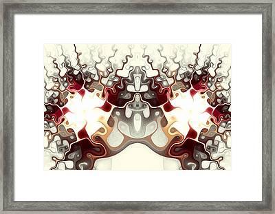 Temple Of Light Framed Print by Anastasiya Malakhova