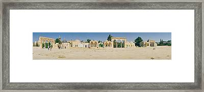 Temple Of Rocks, Dome Of The Rock Framed Print by Panoramic Images